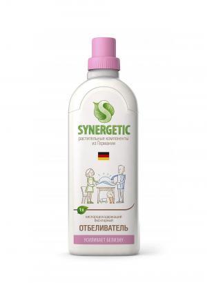 Средство для белья  Отбеливающее С антистатическим эффектом, 1 л Synergetic