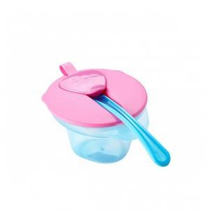 Тарелка  Explora, цвет: розовый Tommee Tippee