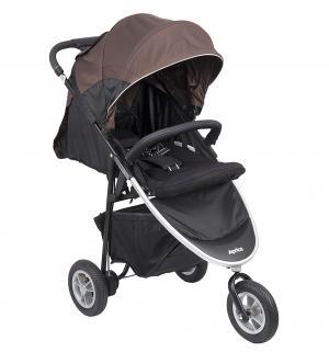 Прогулочная коляска  Smoove, цвет: чёрный/коричневый Aprica