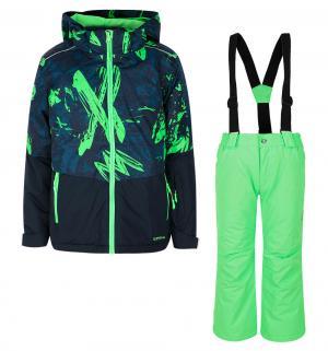 Комплект куртка/брюки  Hagan Jr, цвет: синий IcePeak