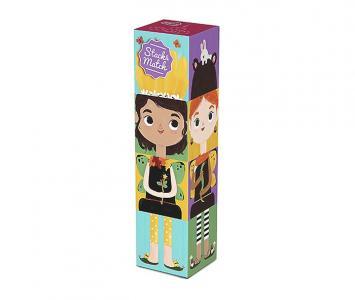 Развивающая игрушка  из картона Stack&Match кубики Лесные феи Krooom