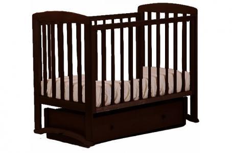 Детская кроватка  АБ 16 Ромашка маятник универсальный Кубаньлесстрой