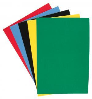 Бумага цветная 5л  самоклеящаяся 5 цв. Каляка-Маляка
