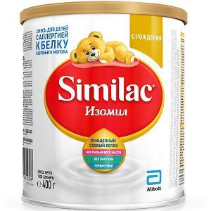 Молочная смесь  Изомил, с 0 мес, 400 г Similac