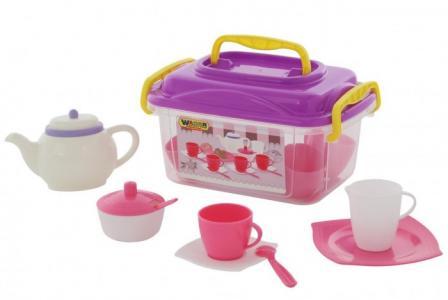 Набор детской посуды Алиса на 4 персоны (19 элементов) Wader