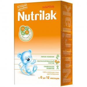 Молочная смесь Нутрилак начальная 1 0-12 месяцев, 350 г Nutrilak