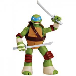 Фигурка Черепашки-ниндзя Леонардо с боевым панцирем 12 см 90521 Playmates TMNT