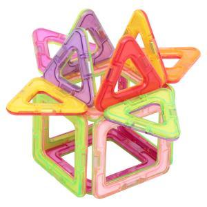 Магнитный конструктор  Магический магнит розово-фиолетовый Tongde