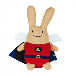 Мягкая игрушка  Зайка с крылышками в одежде 50 см Trousselier