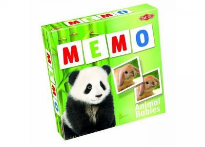 Мемо-карточки Зверята-2 Tactic Games