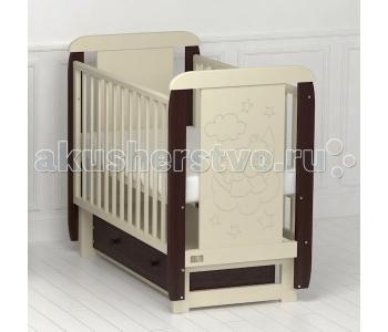 Детская кроватка Kitelli Orsetto поперечный маятник (Kito)