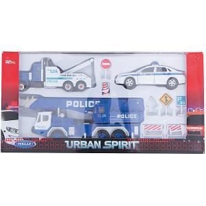 Набор машин Полиция Welly