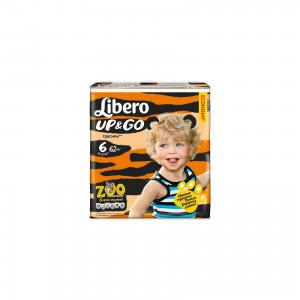 Подгузники-трусики  Up&Go Size 6 (13-20кг), 62 шт Libero