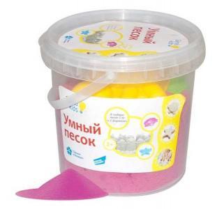 Набор для творчества  Умный песок розовый 1 кг Genio Kids