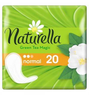 Прокладки  Green Tea normal, 20 шт Naturella