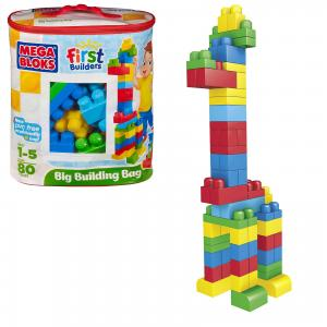 Конструктор Mega Blocks First Builders, 80 деталей BLOKS