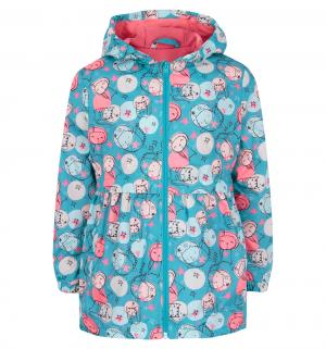 Куртка , цвет: бирюзовый Bembi