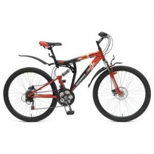 Детский велосипед  Storm, цвет: черный/красный Top Gear