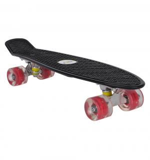 Скейтборд  JC-001, цвет: черный Leader Kids