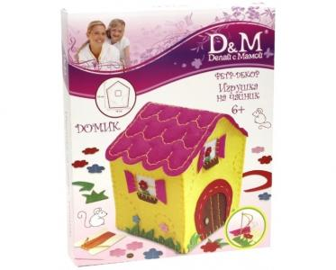 Набор шьем игрушку на чайник Домик Docha&Mama