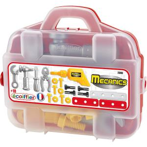Набор инструментов Ecoiffier в чемоданчике, 20 предметов écoiffier. Цвет: weiß/beige
