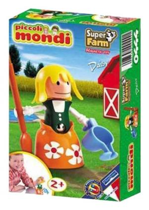 Конструктор  Piccoli Mondi Super Farm Daisy Plastwood