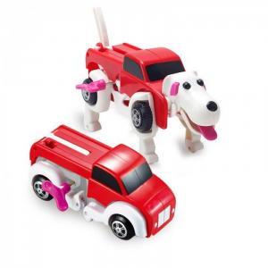 Развивающая игрушка  Трансформер заводной Грузовик - собака Yako