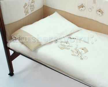 Комплект в кроватку  Bubbles 120x60 (5 предметов) Funnababy