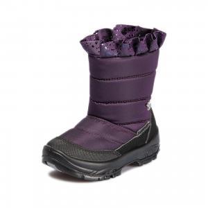 Утепленные сапоги Alaska Originale. Цвет: лиловый