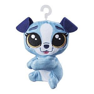 Мягкая игрушка-прилипала Little Pet Shop, Собачка Hasbro