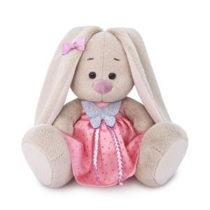 Мягкая игрушка  Малыши Зайка Ми в сарафане с бабочкой 15 см Budi Basa