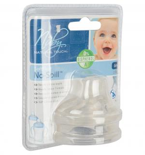 Носик  Natural Touch для бутылочек, цвет: прозрачный Nuby
