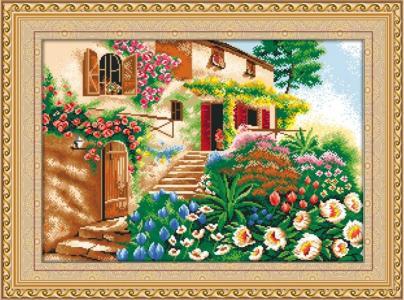 Мозаичная картина Лето Color Kit