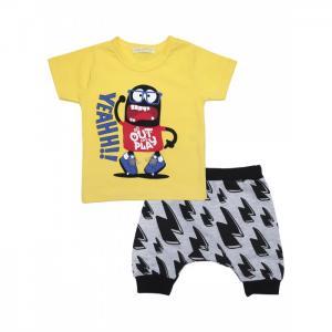 Комплект для мальчика футболка, шорты 6393 Baby Rose