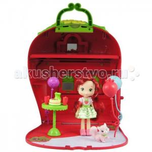 Шарлотта Земляничка 15 см с домом и аксессуарами Strawberry Shortcake