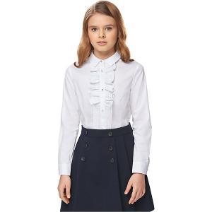 Блузка Junior Republic. Цвет: белый