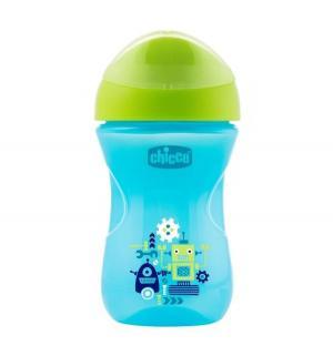 Чашка-поильник  Easy cup Робот, с 12 месяцев, цвет: синий Chicco