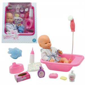 Кукла-Пупсик в ванночке с аксессуарами 38 см Lisa Jane