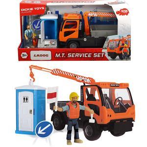Игровой набор  Playlife Санитарный сервис, 7 аксессуаров, 21,5 см Dickie Toys