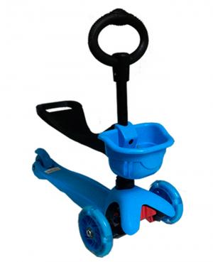Самокат  MS08, цвет: синий Kids Cool