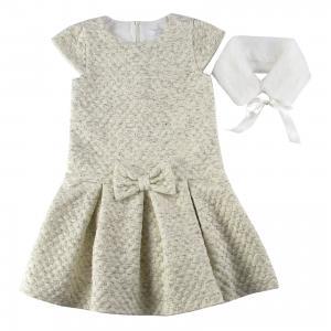 Платье Wojcik. Цвет: бежевый