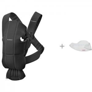 Рюкзак-кенгуру  Mini Cotton и Нагрудник для рюкзака-переноски 2 шт. BabyBjorn