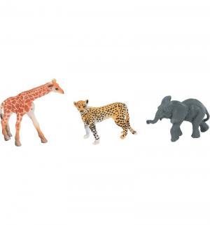 Набор диких животных - Jungle animal 3 шт Shantou Gepai