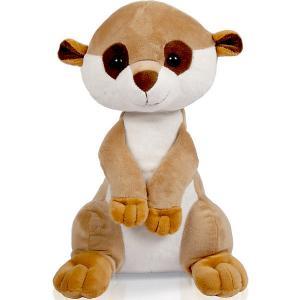 Мягкая игрушка  Сурикат, 25 см Bebelot. Цвет: weiß/beige