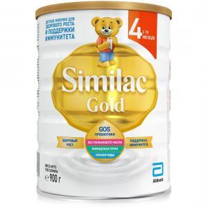 Детское молочко  Gold 4 с 18 месяцев, 900 г Similac