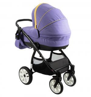 Коляска 3 в 1  Sun Sport, цвет: фиолетовый/желтый Noordi