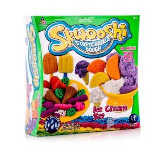 Набор для творчества  Мороженое масса лепки и аксессуары Skwooshi