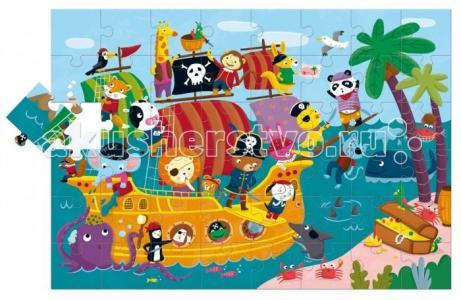 Пазл гигантский Пиратский корабль (48 элементов) Ludattica