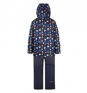 Комплект куртка/полукомбинезон , цвет: синий Gusti