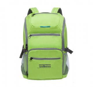Рюкзак  цвет: салатовый 33х45х18 см Grizzly